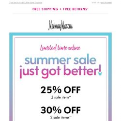 [Neiman Marcus] Up to 35% off sale
