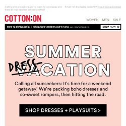 [Cotton On] Dresses of the summer ☀️