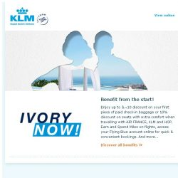 [KLM] Join Flying and receive 3000 Welcome Bonus Miles