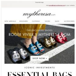 [mytheresa] Roger Vivier x mytheresa.com exclusive shoes + Last day: free shipping