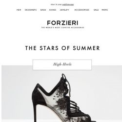 [Forzieri] Now 50% OFF Summer Star Shoes