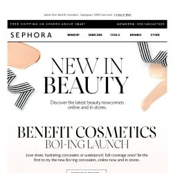[Sephora] ☀Summer newness is here
