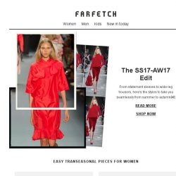 [Farfetch] The transitional trends to invest in now