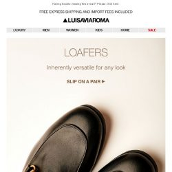 [LUISAVIAROMA] Men's Loafers & Slip-Ons: Gucci, Fendi, Tod's and more…