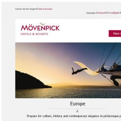 [Mövenpick Hotels & Resorts] Summer holiday deals on four continents