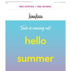 [Neiman Marcus] 55% off! Have you saved yet?
