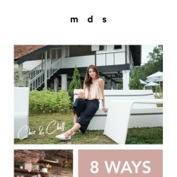 [MDS] 8 Ways to perfect your culottes, now available online & launching tomorrow in-stores.