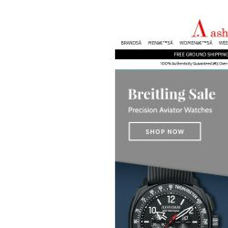 [Ashford] Top Quality Breitling & JeanRichard Timepieces on Sale