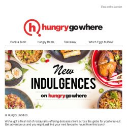 [HungryGoWhere] New Indulgences at Zaffron Banana Leaf, The Tavern Pub, Coriander Leaf Restaurant & many more!