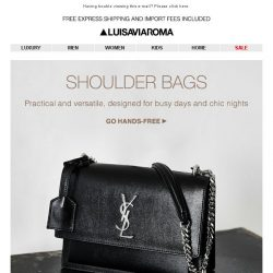 [LUISAVIAROMA] Say Hello to your new bag