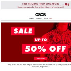 [ASOS] Don't miss up to 50% off sale