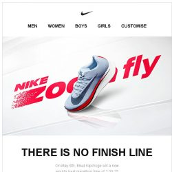 [Nike] Push Fast Forward in the Nike Zoom Fly