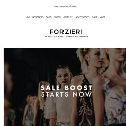[Forzieri] SALE Boost is ON // New Reductions & New Additions