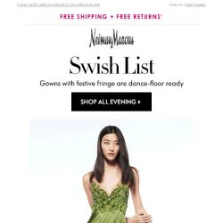 [Neiman Marcus] Gowns to dance the night away