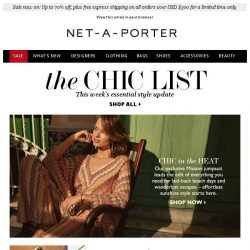 [NET-A-PORTER] The one-piece wonder you need for your next vacation