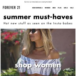 [FOREVER 21] TOTALLY NEW