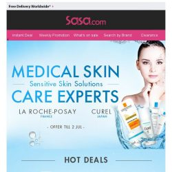 [SaSa ] 【MEDICAL SKIN CARE EXPERTS】Sensitive Skin Solutions