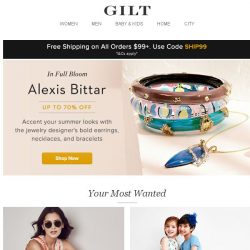 [Gilt] Up to 70% Off Alexis Bittar: Bold jewelry that'll make a splash this summer