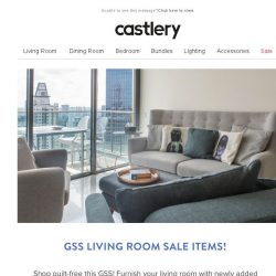[Castlery] Guilt-free shopping for living room deals this GSS!