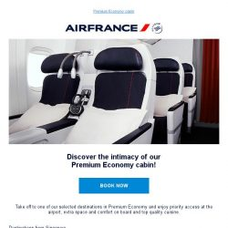 [AIRFRANCE] Fly in Premium Economy and enjoy a privileged space!