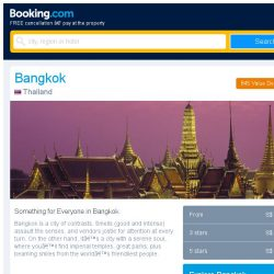 [Booking.com] Deals in Bangkok from S$ 12 for your dates