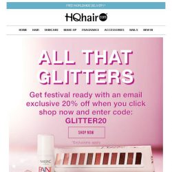 [HQhair] All That Glitters | 20% off