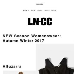 [LN-CC] NEW: Altuzarra - balancing soft tailoring and draping with sensual silhouettes + SALE up to 60% OFF