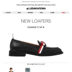 [LUISAVIAROMA] Women's Loafers have just arrived…