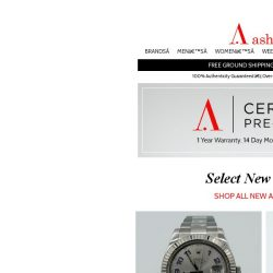 [Ashford] Certified Pre-Owned Watches New Arrivals - Act Fast!