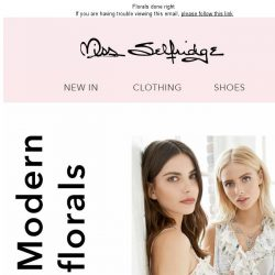 [Miss Selfridge] The fresh print you need right now