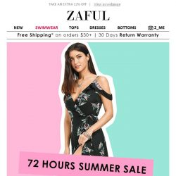 [Zaful] 72 HOURS MARKDOWN- take your statement piece.