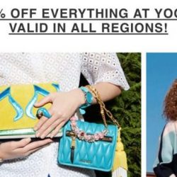 Yoox: 20% OFF Everything + Free Shipping to Singapore!