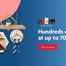 UOB Cards: Enjoy Hundreds of Deals from Coach, Pazzion, Zalora & More at Up to 70% this GSS!
