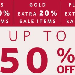 Esprit: The Great Singapore Sale with up to 50% OFF + Friends Private Sale with up to extra 30% OFF