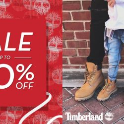 Timberland: Great Singapore Sale with Up to 50% OFF + Up to Additional 20% OFF Sale Items!