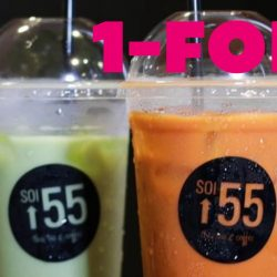 Soi 55: 1-for-1 Drink at One Shenton Outlet