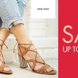 Nine West: End of Season Sale Up to 50% OFF Your Favourite Shoes