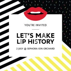 [SEPHORA Singapore] A birthday party that also breaks records?