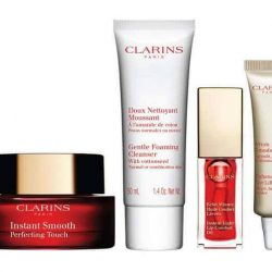 [Clarins] What better way to celebrate Friday than with our Instant Beauty Kit at only $84 for perfect skin, defined eyes