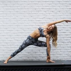 [Lorna Jane] We practise Yoga to reset and feel free.