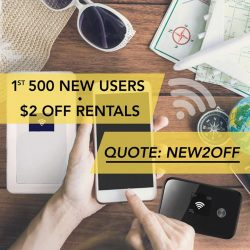 [Changi Recommends] Exclusive new user promo, enjoy $2 off rental fee when you reserve your ChangiWiFi online!