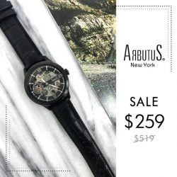 [Arbutus] Arbutus watches feature mechanical movements meticulously assembled by highly skilled watch-makers, with sophisticated designs inspired by the best in