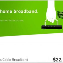 [StarHub Telestation] 200 Mbps Cable Home Broadband @ $22.