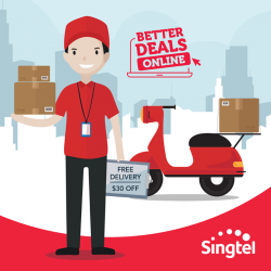 [Singtel] Enjoy free delivery (worth $15) with every new Combo plan sign-up online!