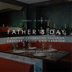 [Aura] Toast to the gentleman in your life with a bountiful and bespoke experience this Father's Day.