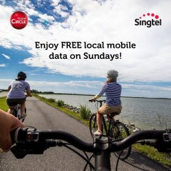 [Singtel] With Singtel Circle's free local data on Sundays, there is no need to worry about mobile data when you'