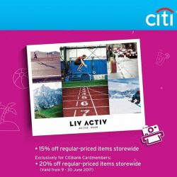 [LIV ACTIV] THE GREAT SINGAPORE SALE IS HERE!