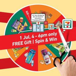 [7-Eleven Singapore] Join us for our new store opening at Hotel 81 - Chinatown on Saturday, 1 July, for freebies and a chance