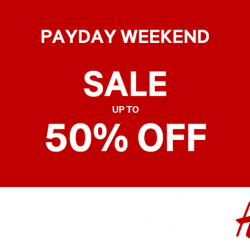 [H&M] IT'S PAYDAY WEEKEND — you know the drill!
