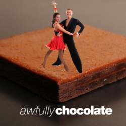 [Awfully Chocolate] Use coupon code yummy10 to save 10% off of Salted Butterscotch Brownies Have you ever tasted the elegant salted butterscotch